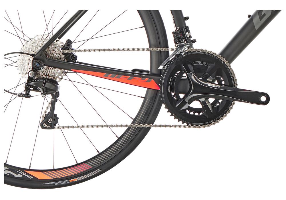 Giant Defy Advanced 2 - Bicicleta Carretera - negro